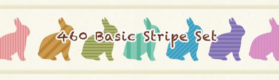 460 Basic Stripe Set