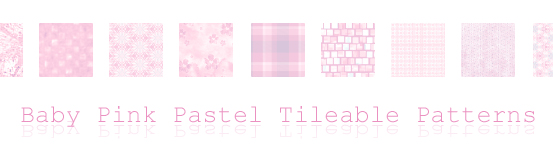 Baby Pink Pastel Tileable Patterns