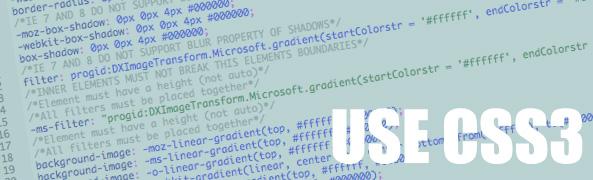 use CSS3