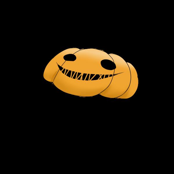 かぼちゃお面